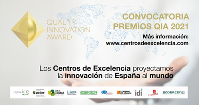 Convocatoria Premios QIA 2021