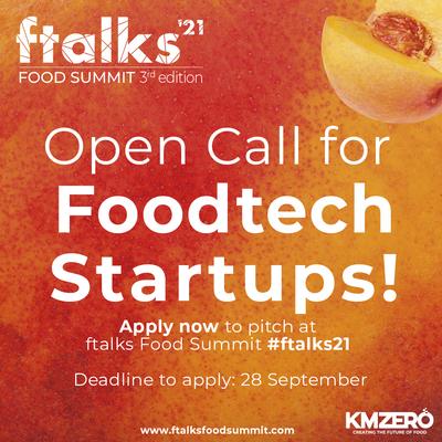 ftalks'21 convocatoria de startups