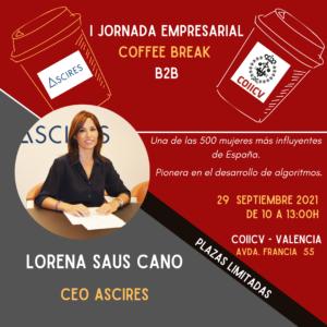 I Jornada Empresarial COIICV y ASCIRES – Coffee Break B2B