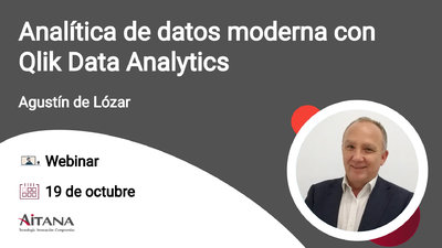 Webinar Analítica de datos moderna con Qlik Data Analytics