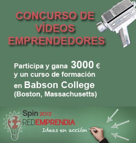 Concurso de vídeo para emprendedores | REDEMPRENDIA 2012: De la Idea a la Acción