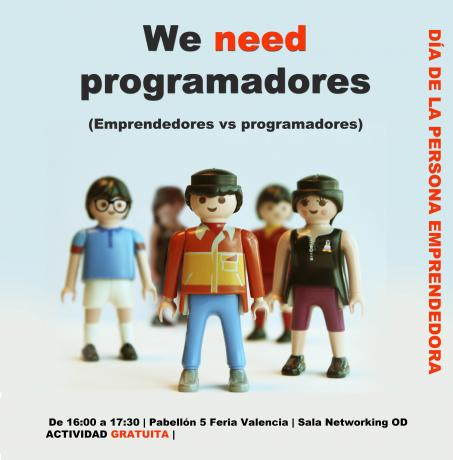 "Actividad de Networking ""We need programadores"""