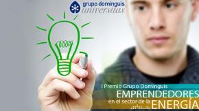 """I Premio Grupo Dominguis """"Emprendedores en el sector de la Energía"""""""