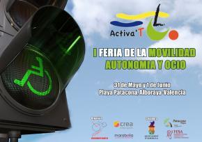 Feria Activa´T, la primera Feria de España para personas con movilidad reducida
