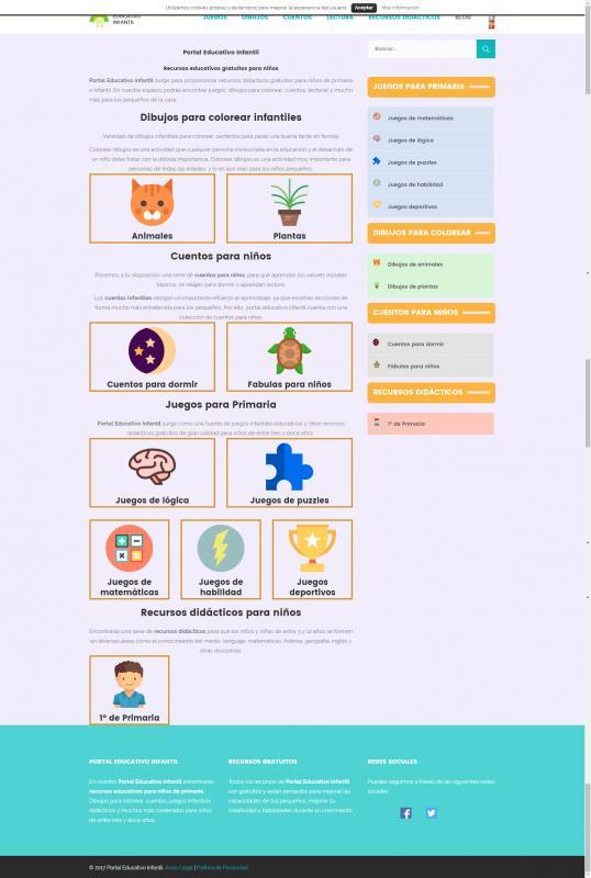 Portal Educativo Infantil