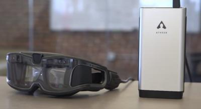 Atheer AiR Glasses, realidad aumentada para empresas