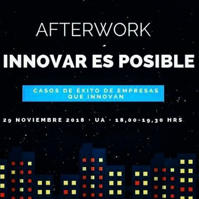 AFTERWORK INNOVAR ES POSIBLE