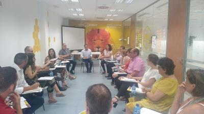 Primera reunión organización Focus Alacantí