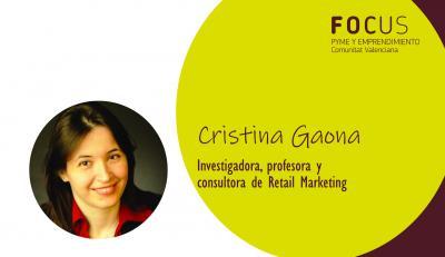 La experta Cristina Gaona hablará de la innovación en el comercio en Focus Pyme L'Alacantí