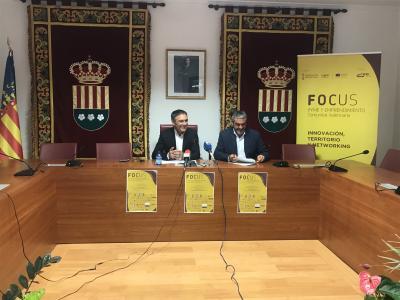 El conceajal, Antonio Sola y el presidente del CEEI han presentado el evento