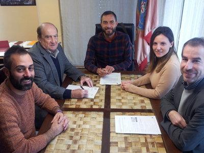 Banyeres de Mariola y Ceei firman convenio de colaboración