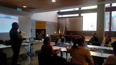 Primera toma de contacto con los agentes del ecosistema de la Comarca de L'Alacantí