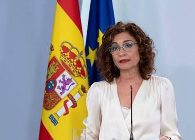 María Jesús Montero. Portavoz Gobierno de España