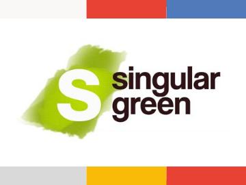 SingularGreen logo scaleup