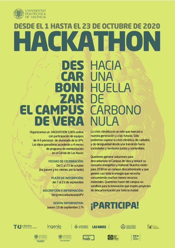 Primer Hackaton UPV LAS NAVES