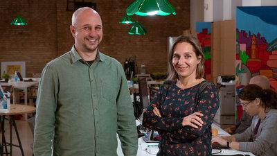 Carolina Castellar y Miquel Minguet