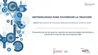 CASO 4: Plan de acción de Innovación Colaborativa alrededor de un líder de clúster