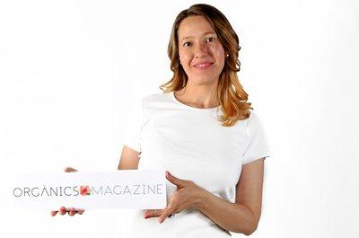 Nina Benito, CEO de Orgànics Magazine