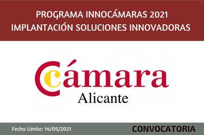 Programa InnoCámaras-Implantación Soluciones Innovadoras 2021