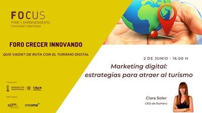 Marketing digital: atraer turismo foro