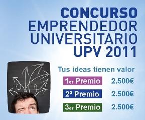 "Concurso ""Emprendedor Universitario UPV"""